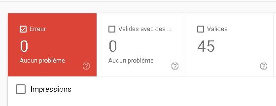 pages indéxéées google search console