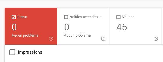 pages indéxéées google search console